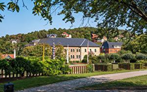 Bilder Deutschland Haus Zaun Ast Blankenburg (Harz) Städte
