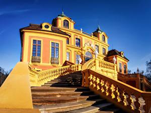 Hintergrundbilder Deutschland Gebäude Palast Treppen Design Ludwigsburg