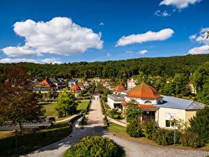 Bilder Deutschland Gebäude Straße Bäume Strauch  Städte