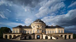 Desktop hintergrundbilder Deutschland Haus Villa Wolke Stuttgart Städte