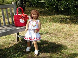 Fonds d'écran Parc Sac à main Poupée Petites filles Les robes Grugapark Essen