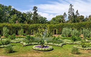 Hintergrundbilder Deutschland Potsdam Park Design Rasen Strauch Park Sanssouci