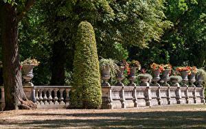 Hintergrundbilder Deutschland Potsdam Park Zaun Strauch Design Park Sanssouci