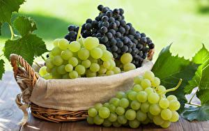 Hintergrundbilder Weintraube Weidenkorb