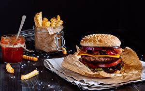 Hintergrundbilder Hamburger Fast food
