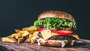 デスクトップの壁紙、、ハンバーガー、ファストフード、ロールパン、クローズアップ、食べ物