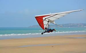 Fotos Flug Hang-gliding sportliches