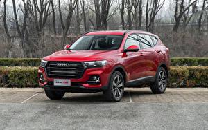Fotos Haval Crossover Rot Metallisch Chinesischer H6, 2021 Autos