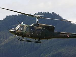 Hintergrundbilder Hubschrauber Amerikanische Agusta-Bell, AB-212