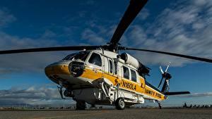 Fotos Hubschrauber Sikorsky S-70A Luftfahrt