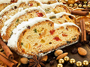 Hintergrundbilder Feiertage Backware Neujahr Keks das Essen
