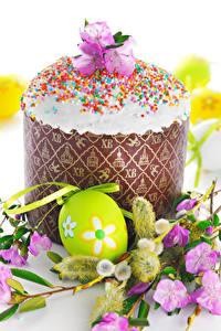 Hintergrundbilder Feiertage Ostern Kulitsch Eier Ast Design das Essen