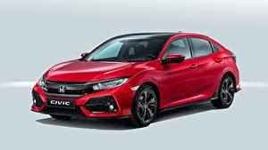 Bilder Honda Rot Civic, Hatchback, 2016 Autos