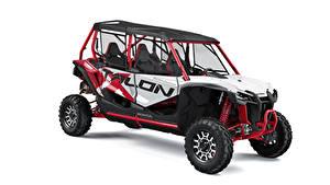 Fotos Honda Weißer hintergrund Talon 1000X-4 FLV, 2020 automobil