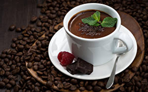 Hintergrundbilder Kakao Getränk Kaffee Schokolade Himbeeren Getreide Tasse Lebensmittel