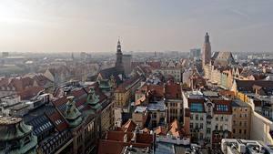 Fotos Haus Polen Von oben Wroclaw, Silesia Städte
