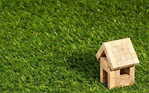 Hintergrundbilder Gebäude Spielzeug Aus Holz Gras Rasen