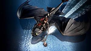 Fotos Drachenzähmen leicht gemacht Drachen Flug 3, Icking, Night Fury Animationsfilm 3D-Grafik