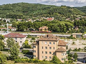 Bilder Ungarn Gebäude Hügel Salgotarjan Städte