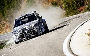 Hintergrundbilder Hyundai Rallye i20 WRC Test Autos Sport