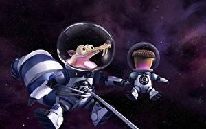 Bilder Ice Age Hörnchen Astronauten Ice Age – Kollision voraus! 2016