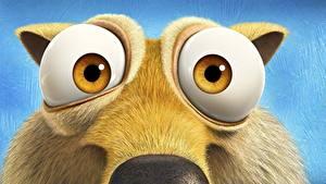 Fotos Ice Age Eichhörnchen Augen
