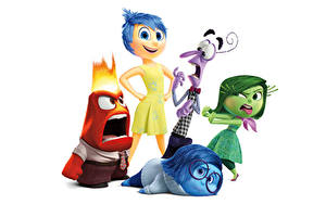 Picture Inside Out (2015 film) Glasses Sadness, Fear, Joy, Anger, Disgust