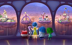 Pictures Inside Out (2015 film) Anger Disgust Fear Joy Sadness Pixar Disney Cartoons