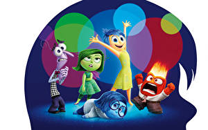 Pictures Inside Out (2015 film) Glasses Sadness, Fear, Joy, Anger, Disgust