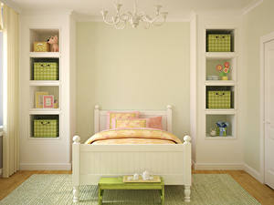 Wallpapers Interior Children's room Design Bed