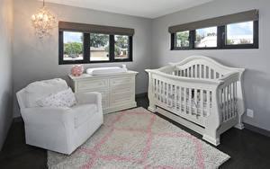 Fotos Innenarchitektur Kinderzimmer Design Bett Sessel