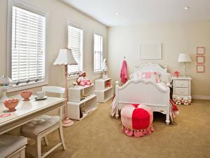 Hintergrundbilder Innenarchitektur Kinderzimmer Design Bett Lampe