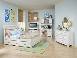 Hintergrundbilder Innenarchitektur Kinderzimmer Design Bett Kissen