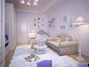 Hintergrundbilder Innenarchitektur Kinderzimmer Spielzeuge Design Sofa Teppich Lampe