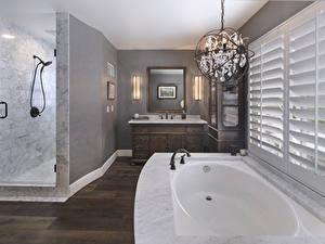Bilder Innenarchitektur Design Badezimmer Lüster