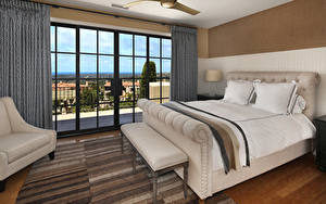 Wallpaper Interior Design Bedroom Bed