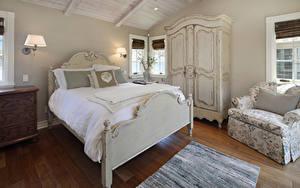 Hintergrundbilder Innenarchitektur Design Schlafkammer Bett Sessel Lampe