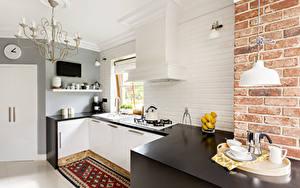 Picture Interior Design Kitchen Chandelier Table