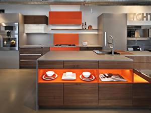 Hintergrundbilder Innenarchitektur Design Küche Tisch 3D-Grafik