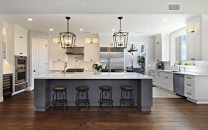 Bilder Innenarchitektur Design Küche Tisch Lampe