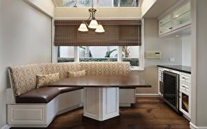 Fotos Innenarchitektur Design Küche Tisch Sofa