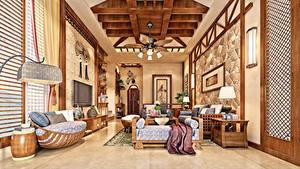 Hintergrundbilder Innenarchitektur Design Wohnzimmer Couch 3D-Grafik