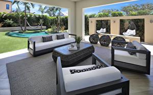 Fotos Innenarchitektur Design Wohnzimmer Couch Sessel
