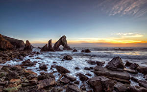 Images Ireland Coast Stone Sky Rock Arch Donegal, Sea Arch Stack Nature