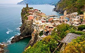 Bilder Italien Küste Ligurien Cinque Terre Park Städte