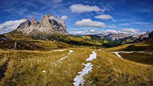 Hintergrundbilder Italien Gebirge Himmel Landschaftsfotografie Alpen Wolke Felsen Dolomites Natur
