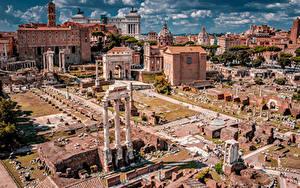 Hintergrundbilder Italien Rom Ruinen Berühmte Gebäude Gebäude Palatine Hill Städte