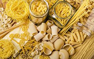 Bilder Einweckglas Makkaroni Lebensmittel