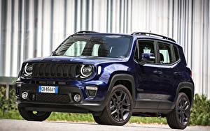 Fotos Jeep Crossover Blau Metallisch 2020 Renegade S 4xe Autos