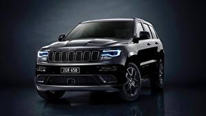 Bilder Jeep Schwarz Metallisch Grand Cherokee Limited 2019 Grand Cherokee S Autos